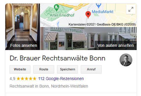 Rezensionen bei Google My Business