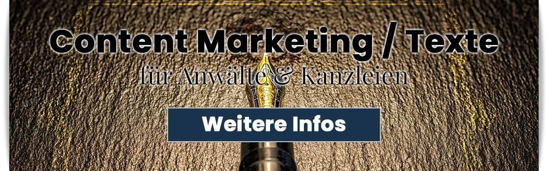 Infos zum Content Marketing für den Anwalt