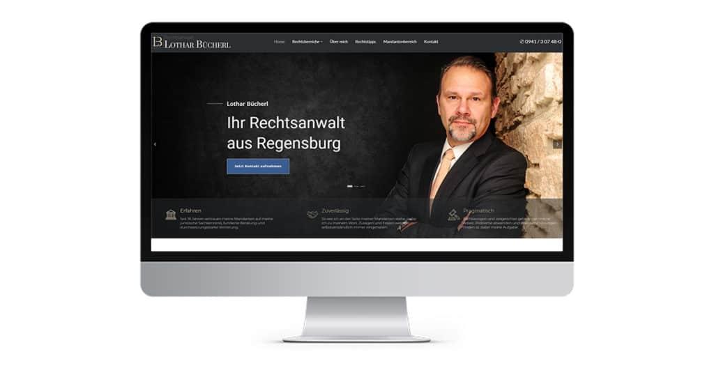 Referenz Rechtsanwalt Lothar Bücherl