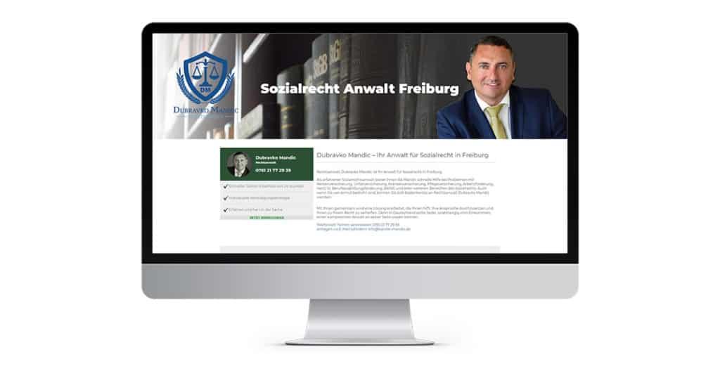 Landingpage Sozialrecht Freiburg