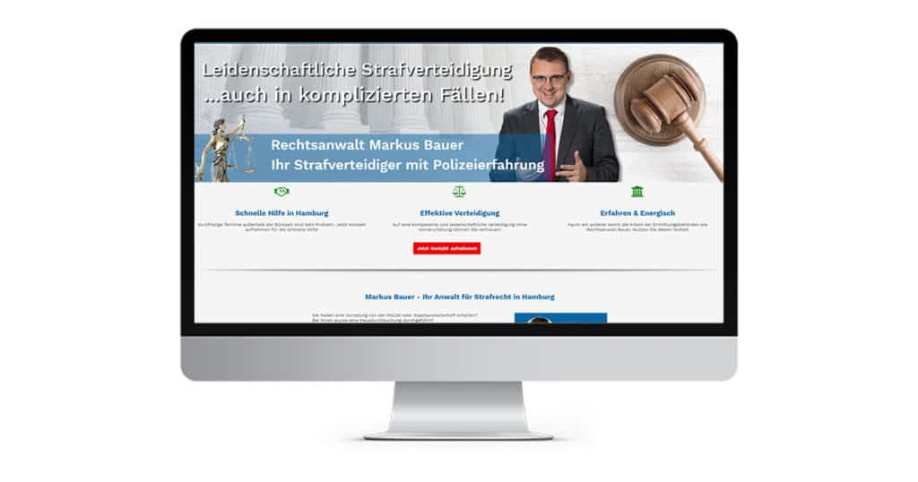 Landingpage Strafrecht Anwalt Hamburg
