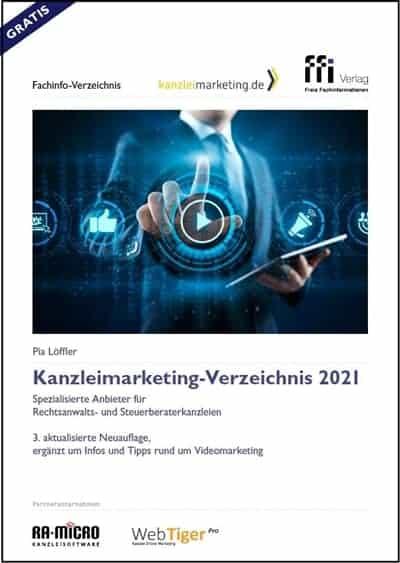 Kanzleimarketing Verzeichnis 2021